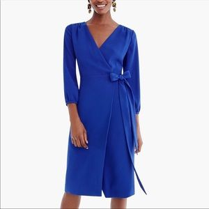 J Crew Wrap Dress, NWT!